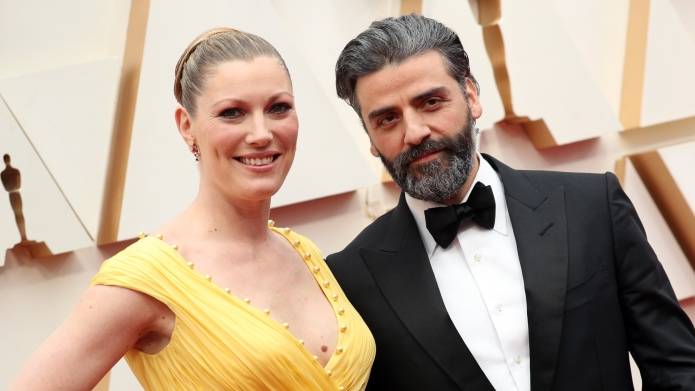 Celebrity Couple Oscars 2020: Oscar Isaac and Elvira Lind
