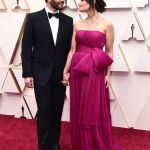 Celebrity Couples Oscars 2020: Aaron Lohr, Idina Menze