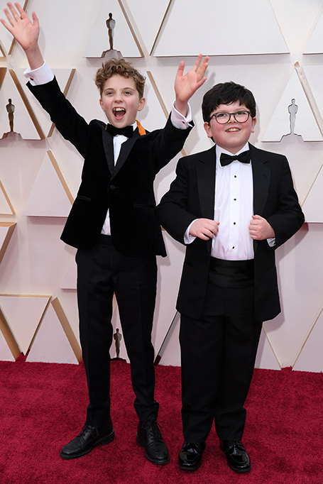 Roman Griffin Davis and Archie Yates 92nd Annual Academy Awards