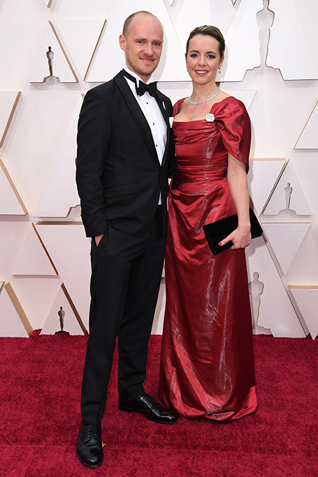 Edward Watts and Olivia Scarlett-Watts92nd Annual Academy Awards, Arrivals, Los Angeles, USA - 09 Feb 2020