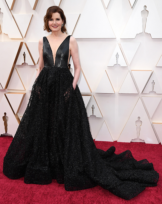 Geena Davis 92nd Annual Academy Awards, Arrivals, Los Angeles, USA - 09 Feb 2020