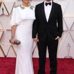 Oscars 2020 Celebrity Couples, Lin-Manuel Miranda and Vanessa Nadal