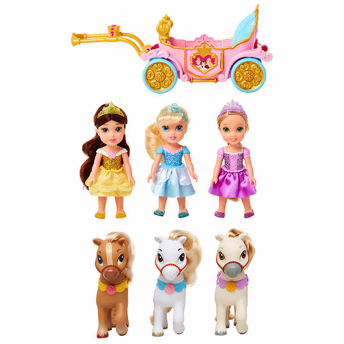 Best Toys From Costco Disney Princess Royal Carriage, Doll and Pony Gift Set