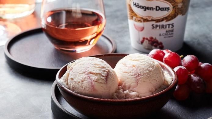 Häagen-Dazs Rose Ice Cream