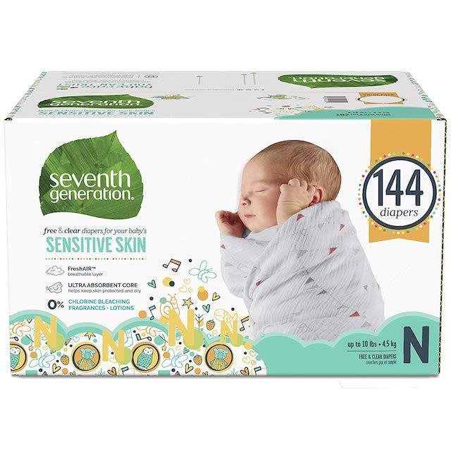 Seventh Generation Best Diapers Newborns Amazon