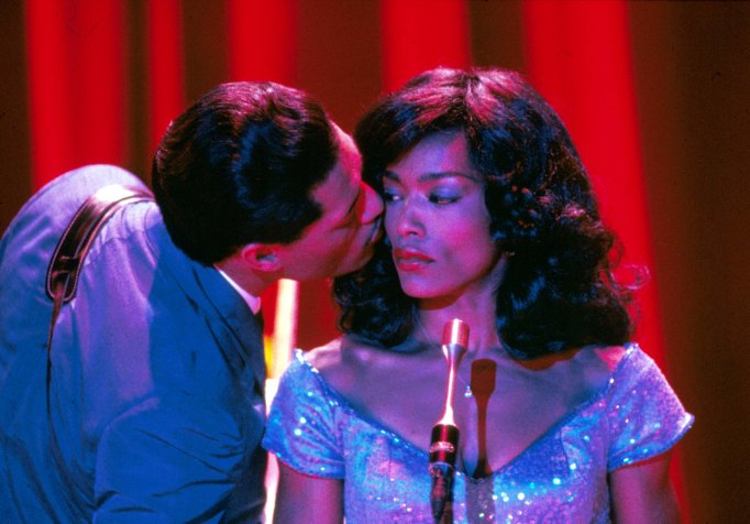 Laurence Fishburne, Angela Bassett in 'What's Love Got To Do With It'