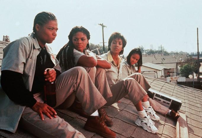 Queen Latifah, Kimberly Elise, Vivica A. Fox, Jada Pinkett Smith in 'Set It Off'
