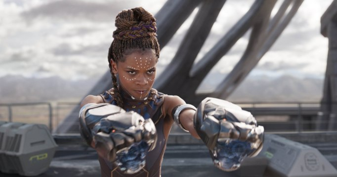 Letitia Wright in 'Black Panther' - 2018