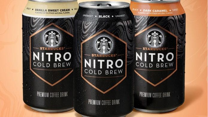 Starbucks Releases Nitro Cold Brew in