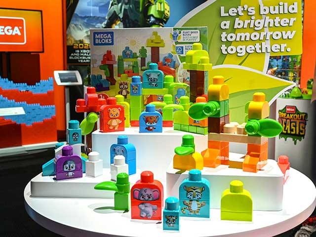 Plant-Based Mega Bloks at New York Toy Fair 2020