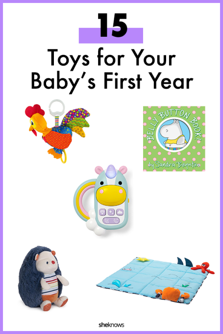 Toys for Baby's First Year