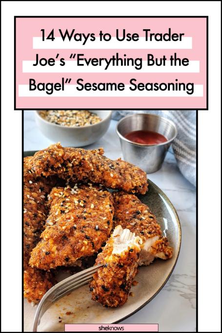 Trader Joe's Everything But the Bagel Seasme Seasoning Recipes