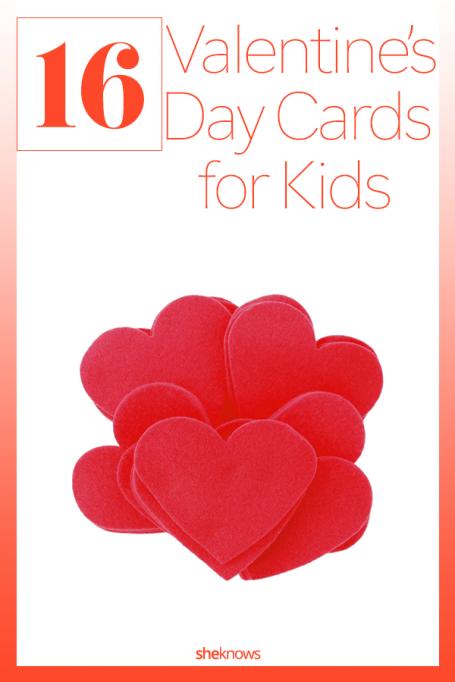Easy Kids Valentine's Day Cards