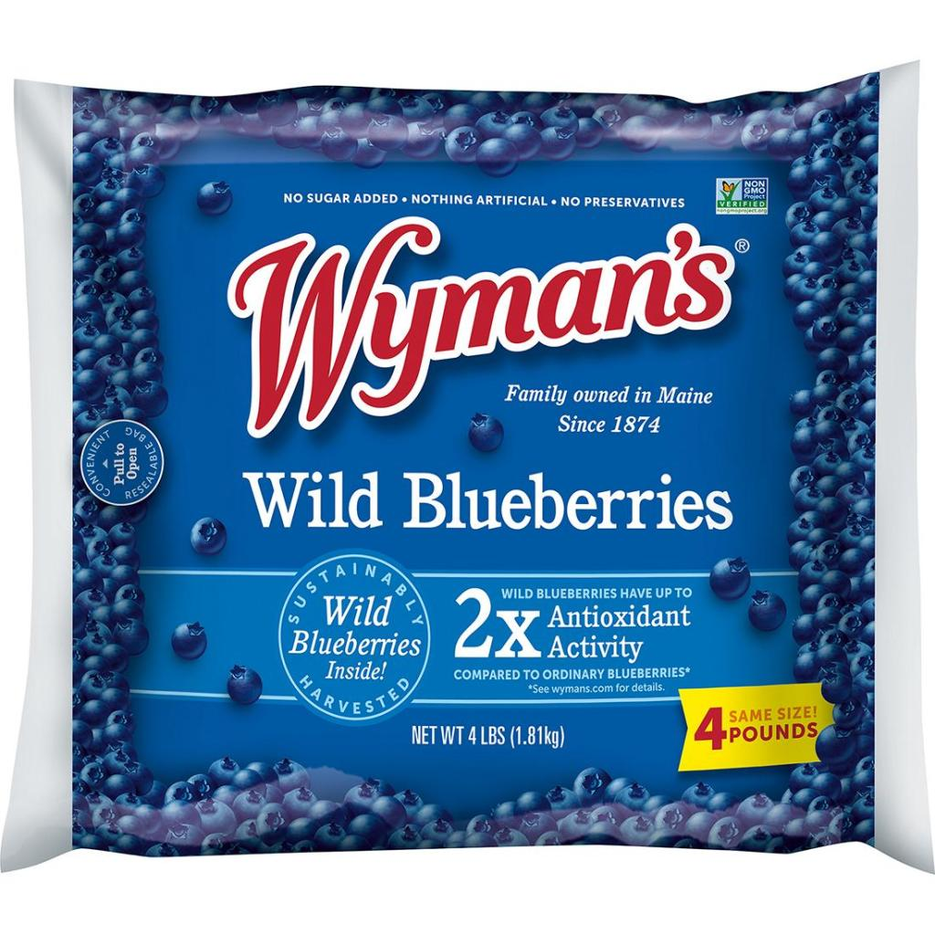 wyman's blueberries