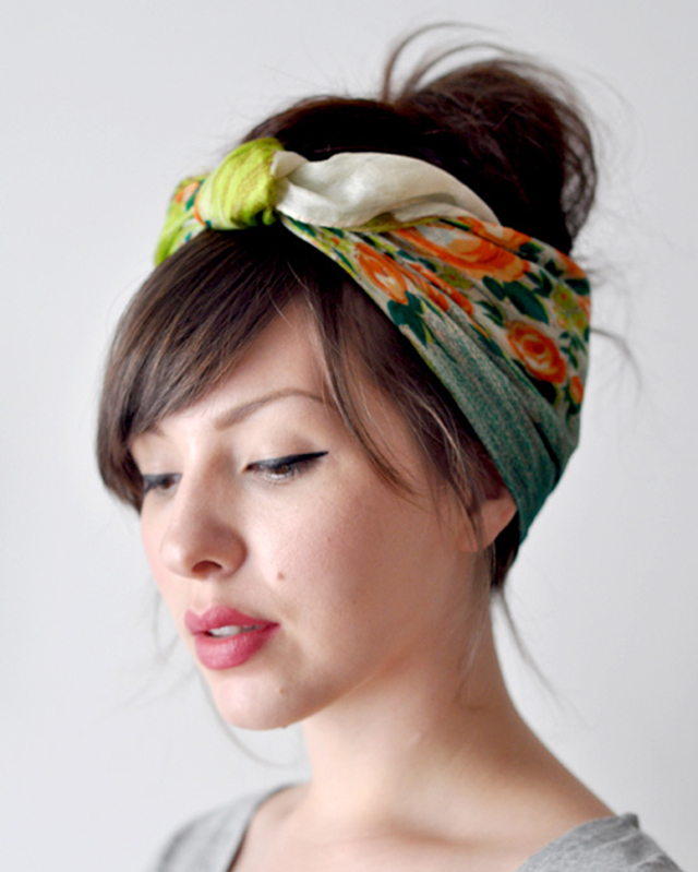 1950s Head scarf