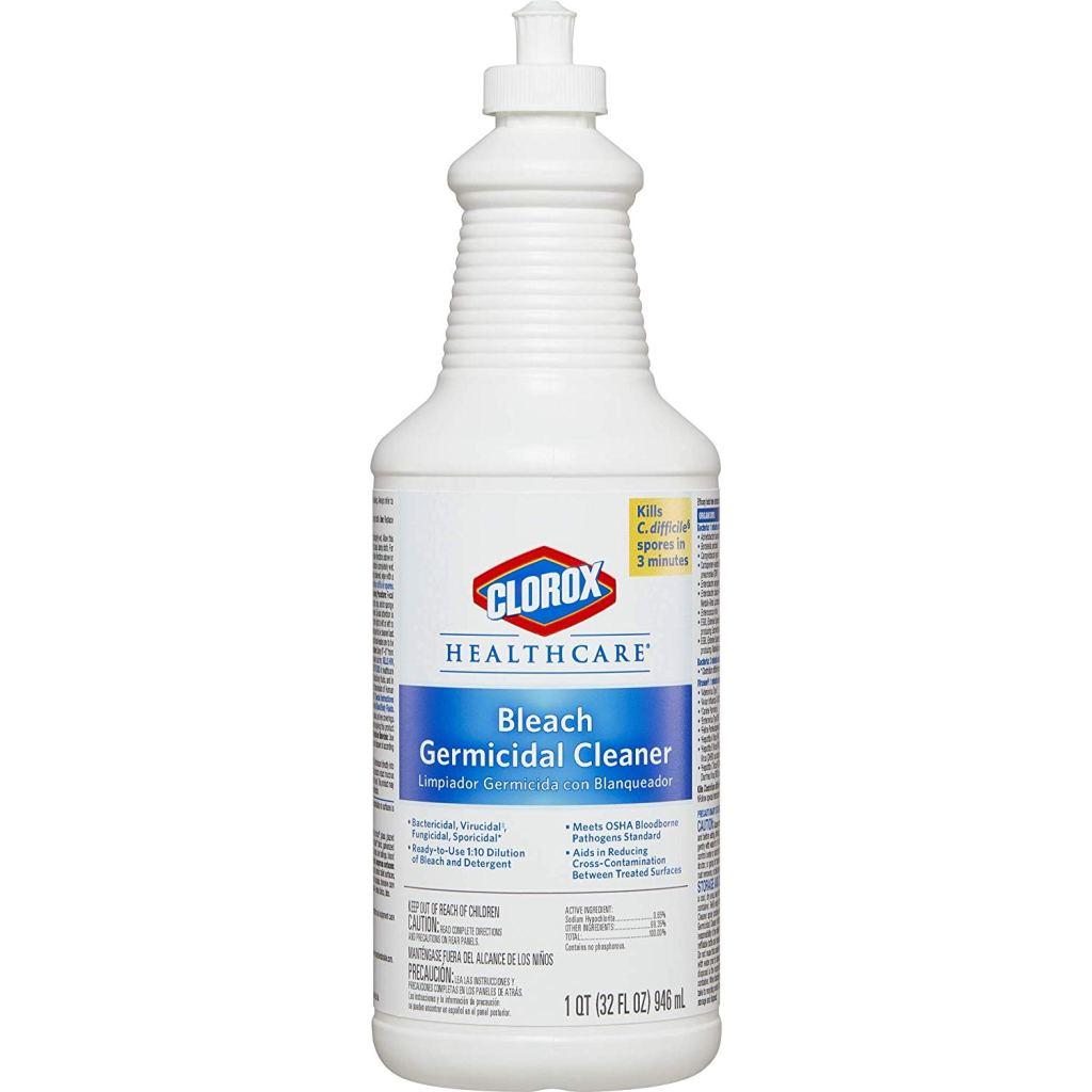 Clorox Healthcare Bleach Germicidal Cleaner Pull-Top