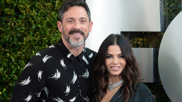 Jenna Dewan and Steve Kazee at