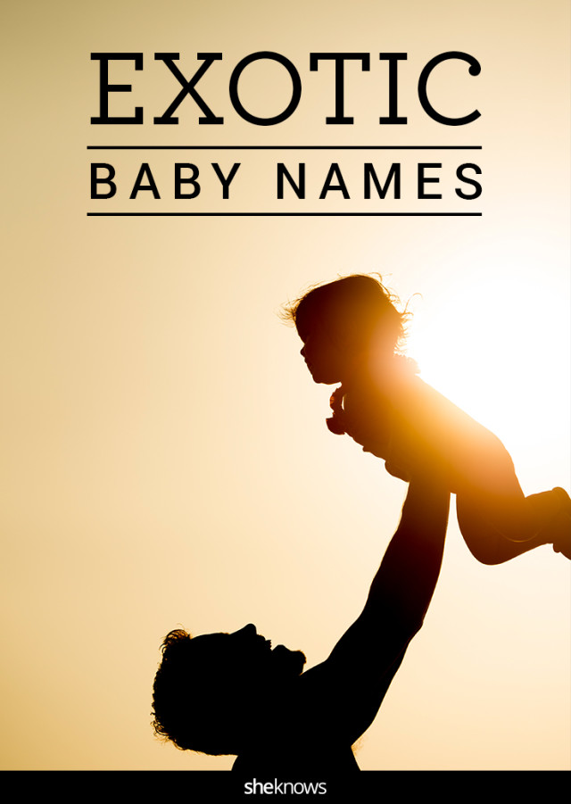 Exotic baby names