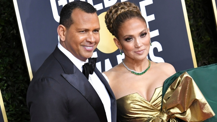 Alex Rodriguez Shares Engagement Anniversary Tribute