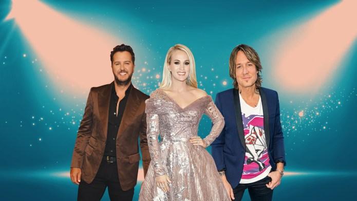 Luke Bryan, Carrie Underwood, Keith Urban
