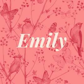 Classic Baby Girl Names: Emily