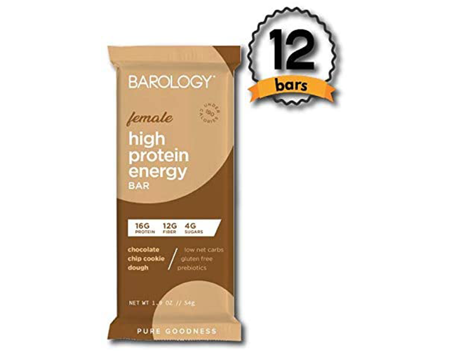 Barology Best Protein Bars for Women on Amazon