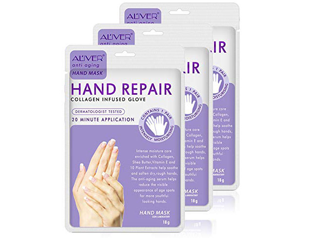 Blue Repair Best Moisturizing Hand Gloves