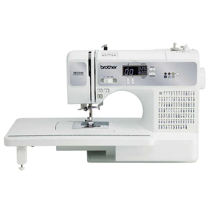 Brother XR3340 Computerized Sewing and Quilting Machine