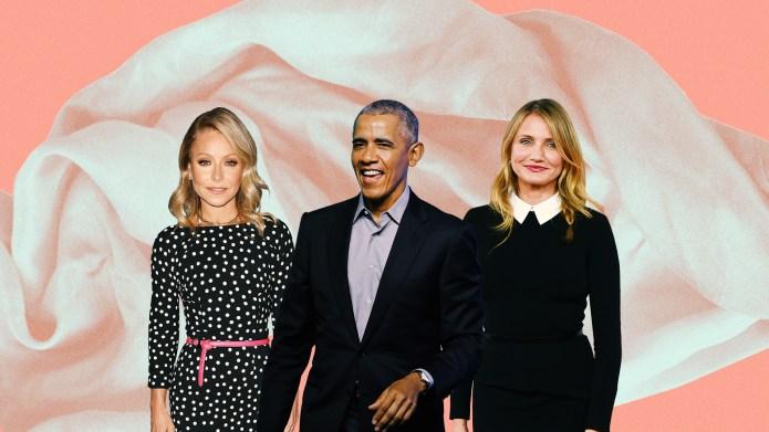 Barack Obama, Kelly Ripa, Cameron Diaz