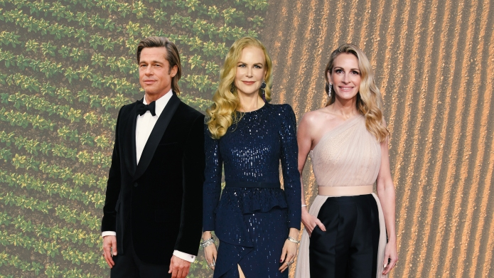 Brad Pitt, Julia Roberts, Nicole Kidman