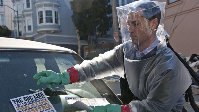 Jude Law in 'Contagion'