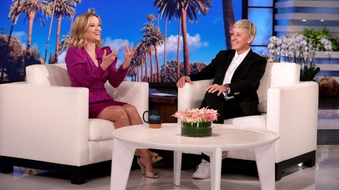 Reese Witherspoon & Ellen DeGeneres Doing