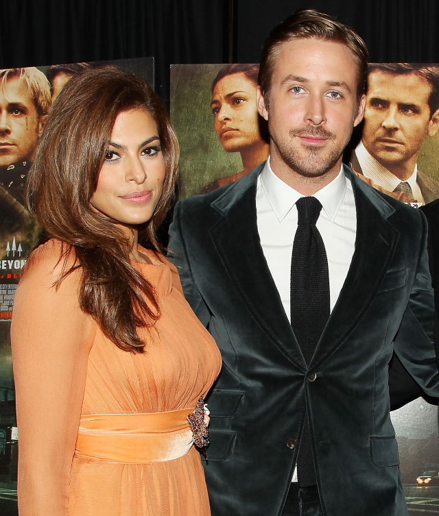 Hot Pictures of Birthday Girl Eva Mendez With Hubby Ryan Gosling.