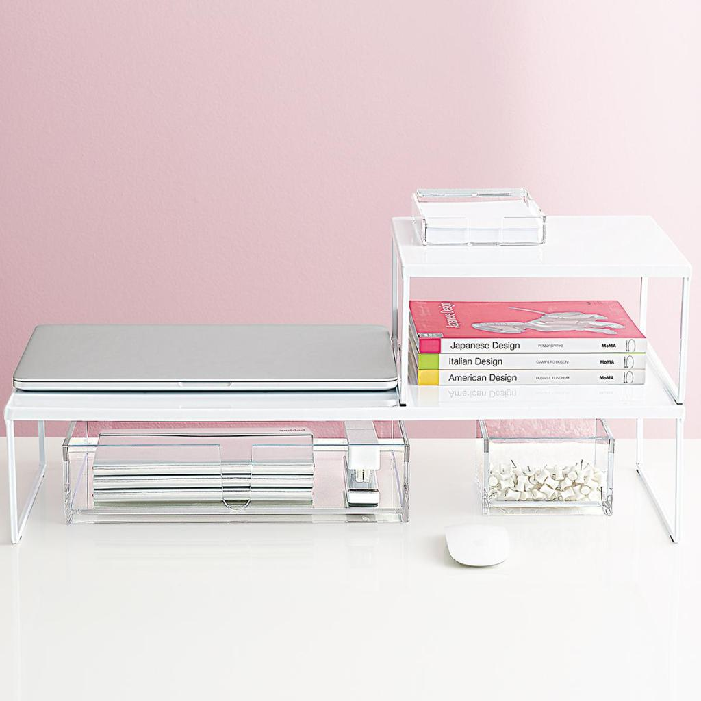 Franklin Desk Riser Container Store Office Sale