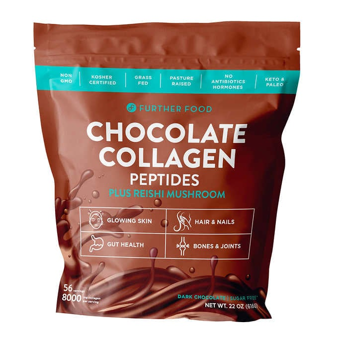 Further Food Chocolate Collagen Peptides Protein Powder