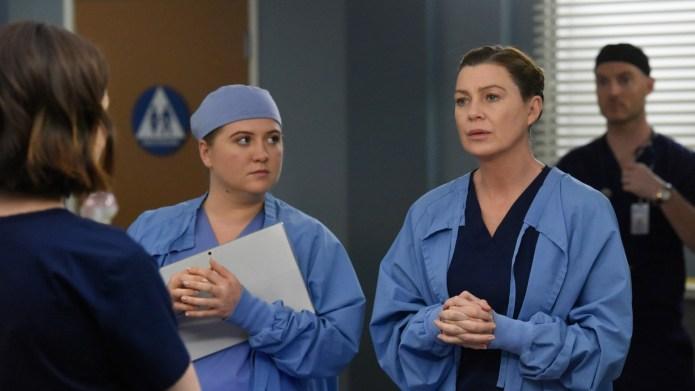 Ellen Pompeo in 'Grey's Anatomy'