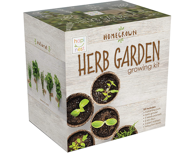 Hapinest Best Indoor Herb Kit on Amazon