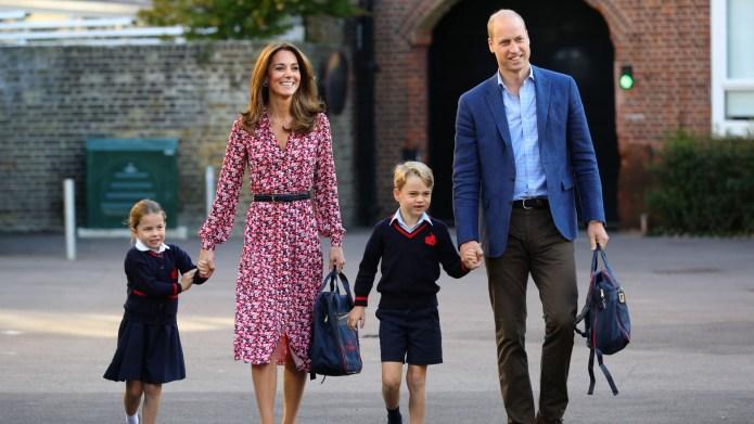 Kate Middleton, Prince William, Princess Charlotte,