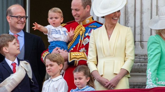 Prince William, Kate Middleton, Prince George,