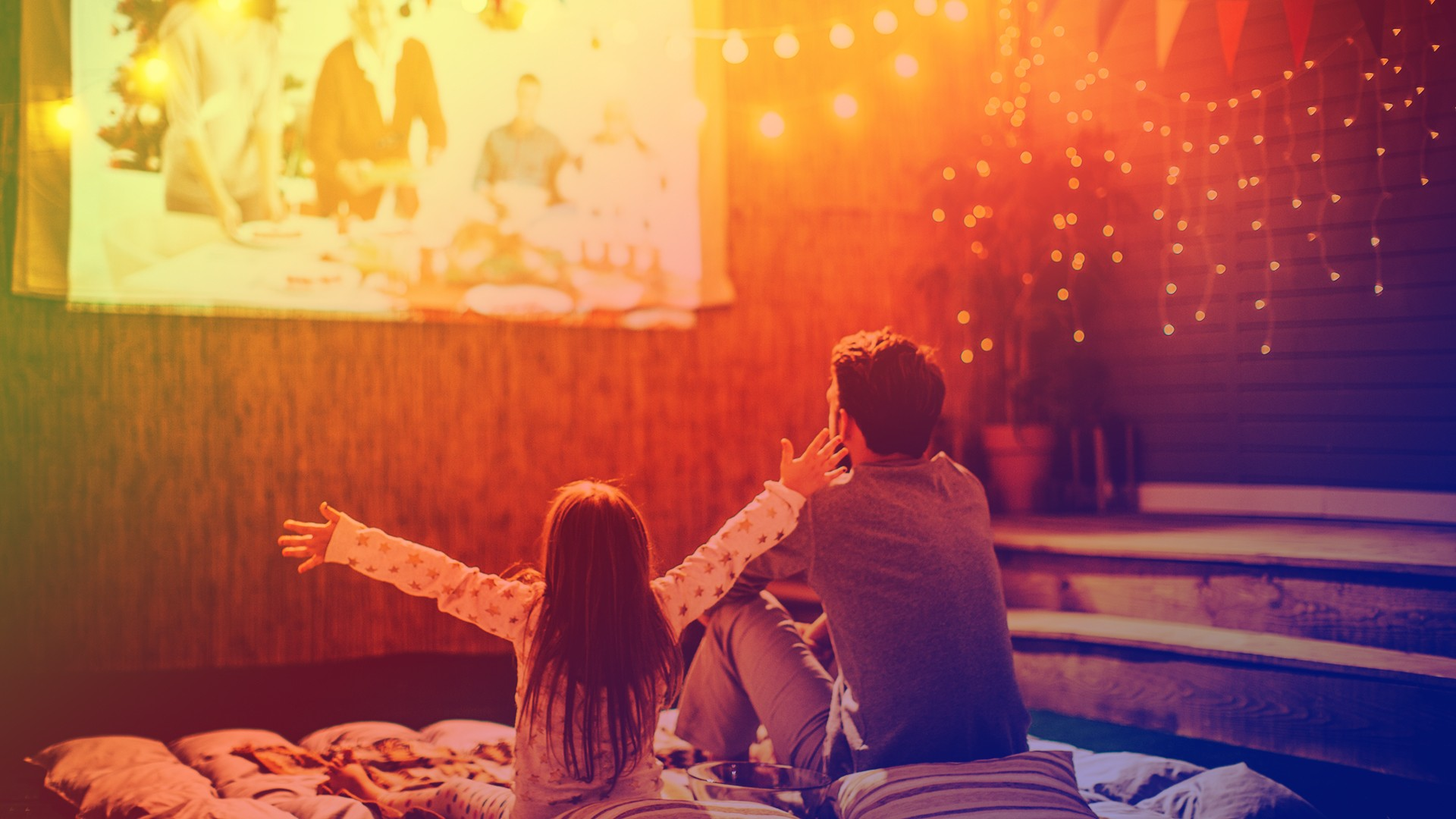 family movie night kid tv