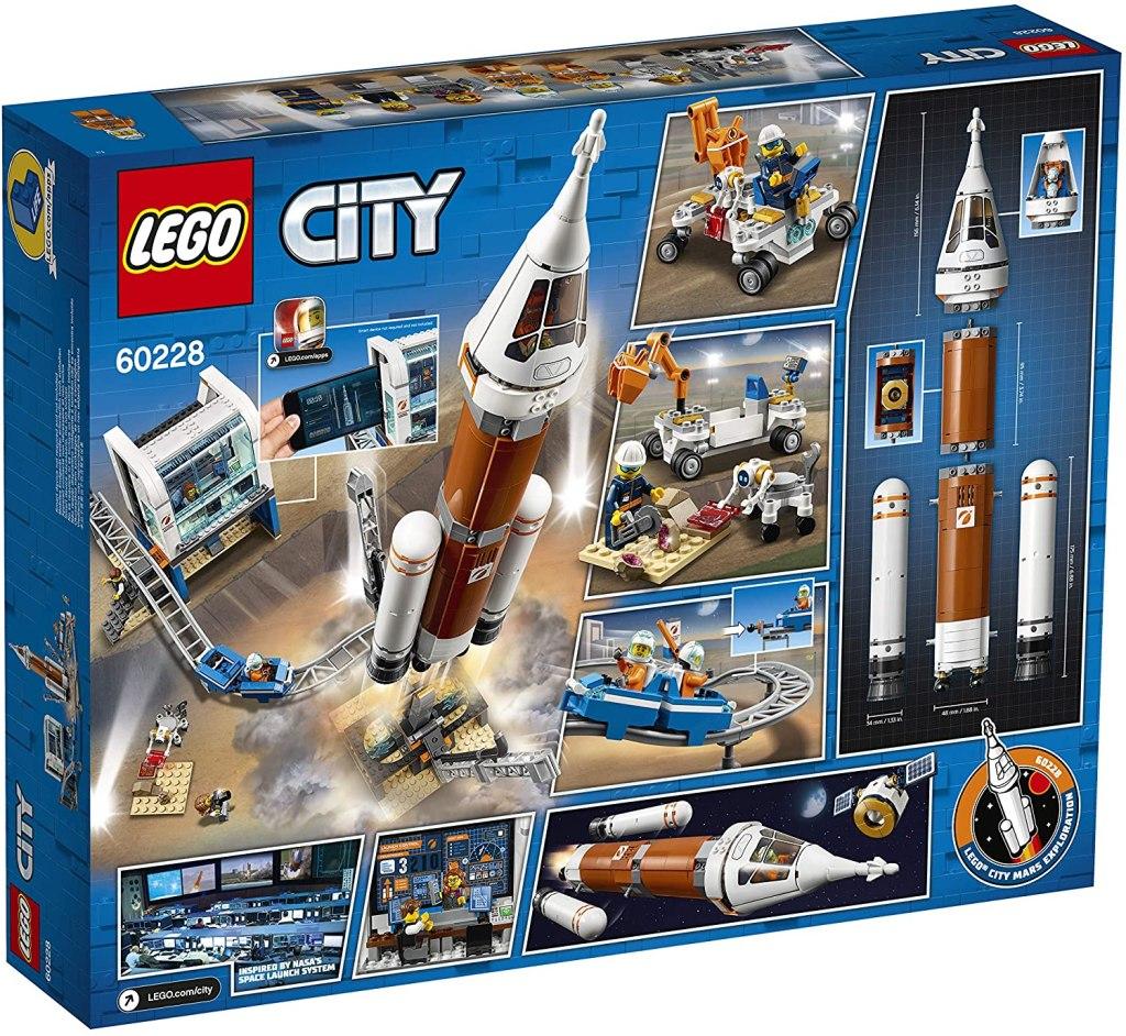 LEGO City Deep Space rocket