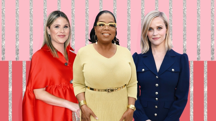 Jenna Bush Hager, Oprah Winfrey, Reese