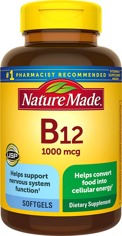 nature made b12 vitamin