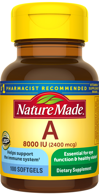nature made vitamin a