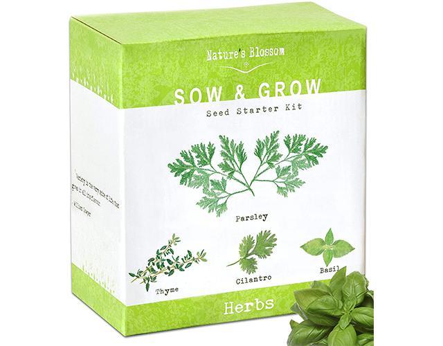 Nature's Blossom Best Herb Kit on Amazon