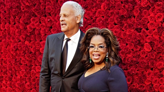 Oprah and Stedman Are Embracing Separate
