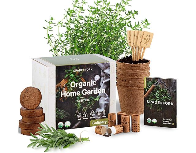 Organic Home Garden Best Indoor Herb Kit on Amazon