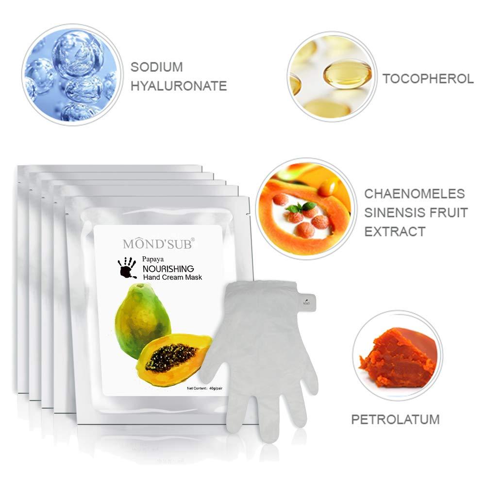 Papaya Best Hand Masks Dry Skin Amazon