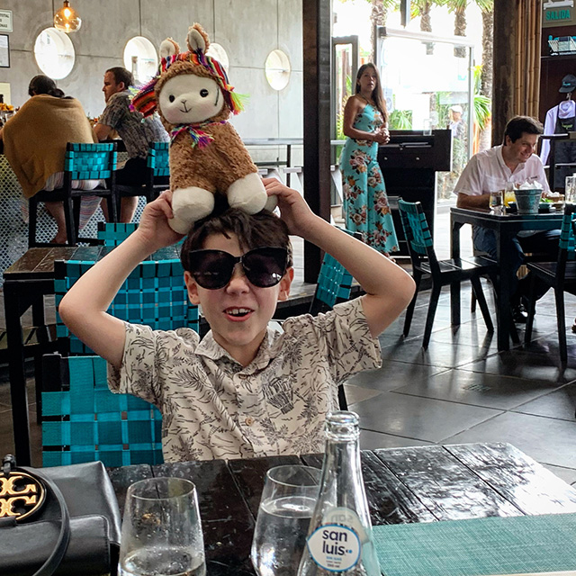 Maximus Curry in Lima Peru