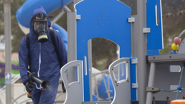 Playgrounds unsafe coronavirus